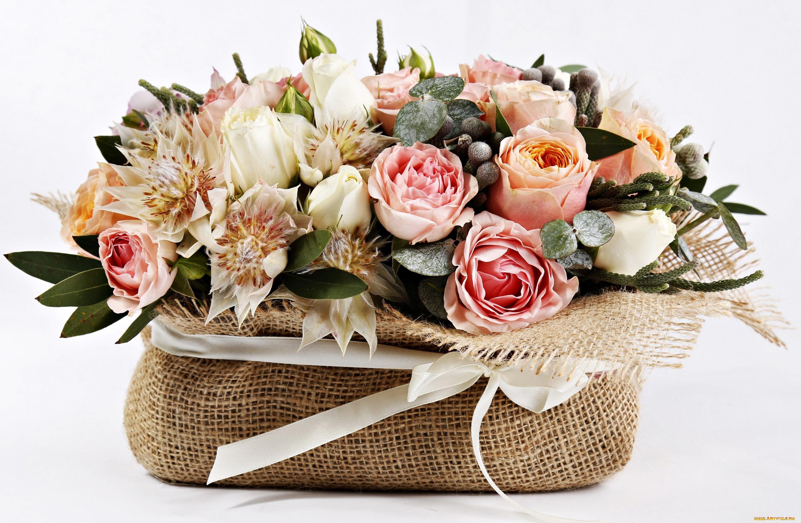 часть открытка розы стильный букет подлая недалекая нас